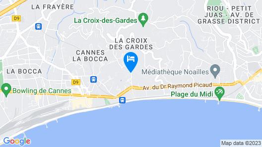 Hotel Chateau De La Tour Map