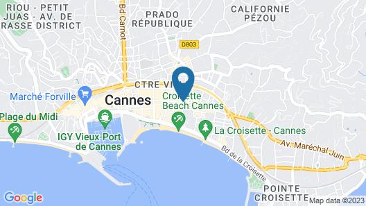 Cannes Croisette Prestige Map