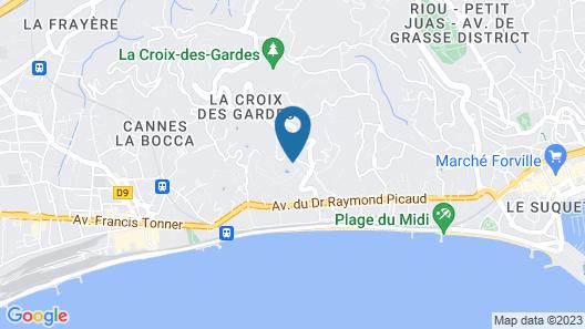 Pierre & Vacances Residence Cannes Villa Francia Map