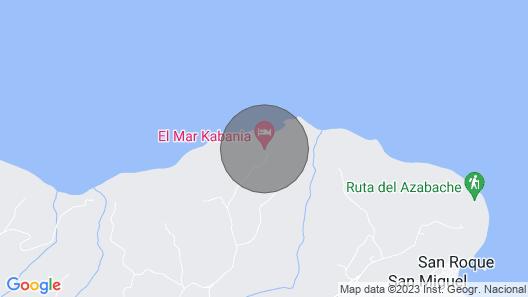 El Mar - Romantic Hideaway on Asturian Cliffs Map