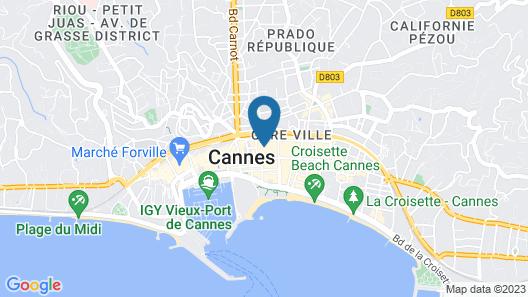 Hotel PLM Map