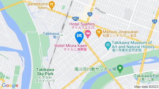 hotel miura kaen Map