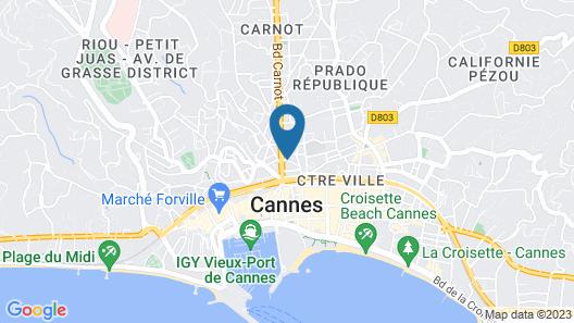 Hotel Montaigne & Spa Map