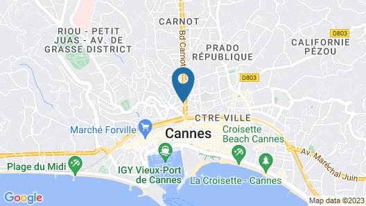 Cavendish Map