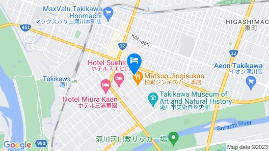 Workmanhouse Takikawa Map