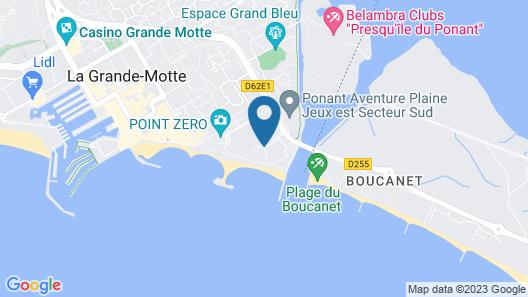 Pierre & Vacances Résidence Le Levant Map