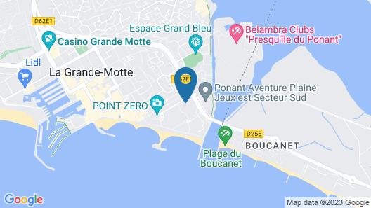 Residéal La Grande-Motte Map