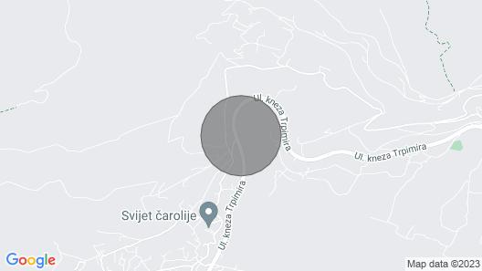 Villa Salona Nearly Split Map