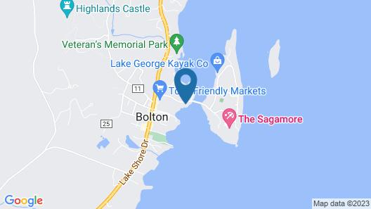 Boathouse Bed & Breakfast Map