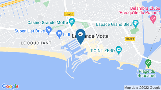 Mercure Grande Motte Port Map