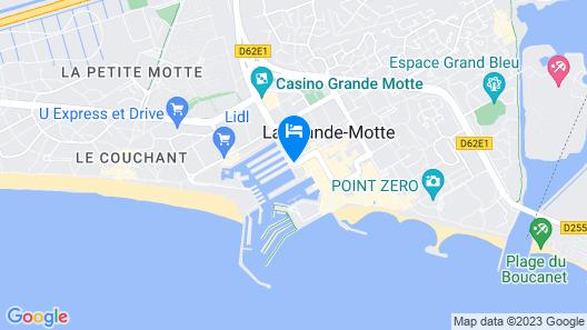 Mercure Grande Motte Port Map
