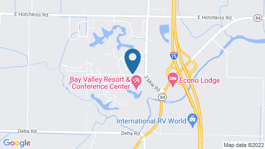 Bay Valley Resort & Conference Centre Map