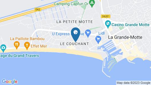 Residence Côté Mer Map