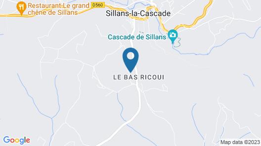 Logement Indépendant, Villa Quartier Calme et Verdoyant Map