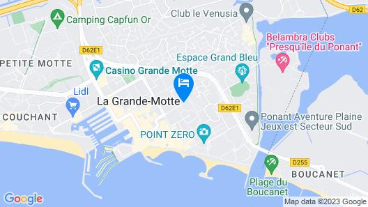 Hôtel Le Quetzal Map