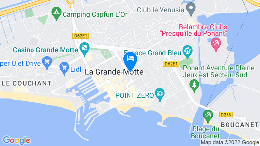 Actif Résidence Les Cyclades Map