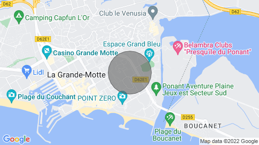 Nice Apartment, THE Great Motte, Quarter Point Zero, Seaside Map