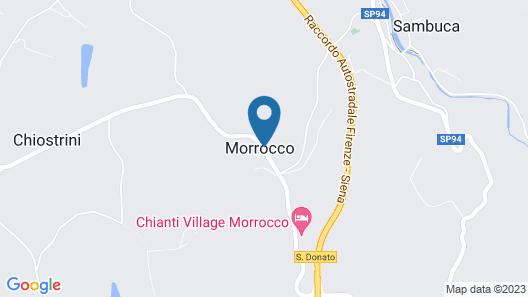 Chianti Village Morrocco Map