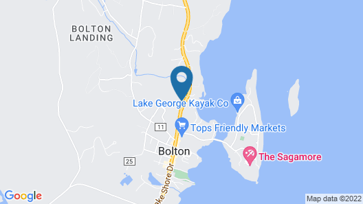 Lake View in Bolton Landing - Come Visit and Enjoy all Lake George has to Offer! Map