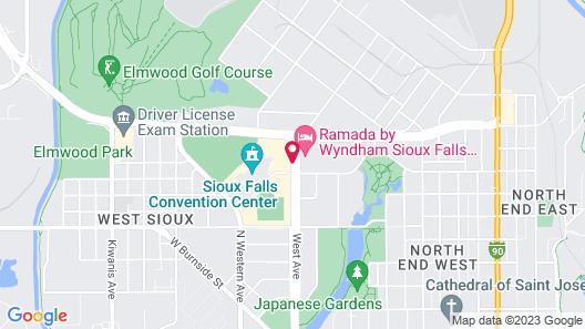 Sheraton Sioux Falls & Convention Center Map