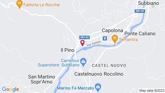B&B Villa La Nussa Map