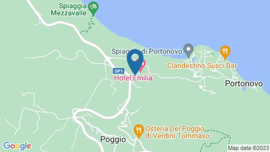 Hotel Emilia Map