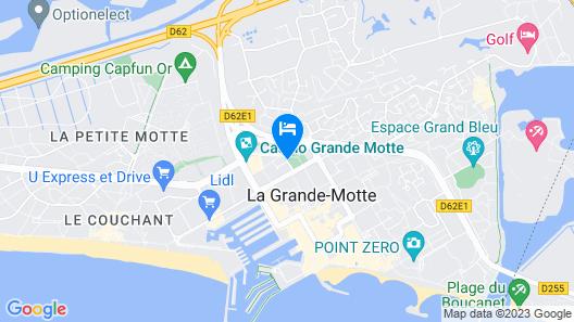 Hôtel Europe Map