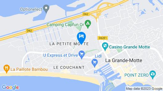 Camping Maïana Resort Map
