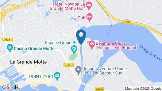Belambra Clubs la Grande Motte - Presqu'ile du Ponant Map