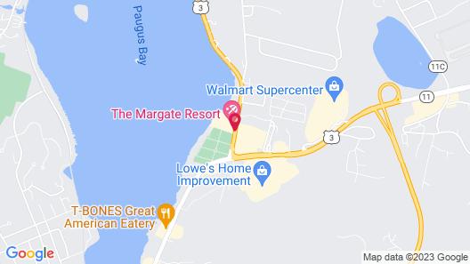 The Margate Resort on Lake Winnipesaukee Map