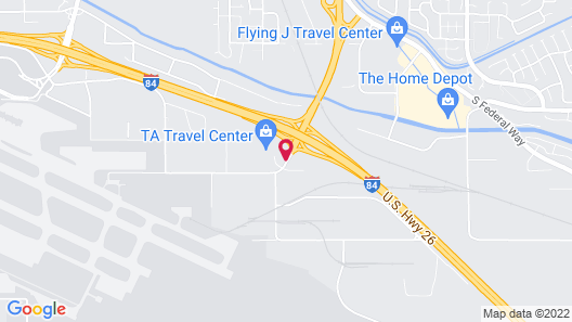 Red Lion Inn & Suites Boise Airport Map