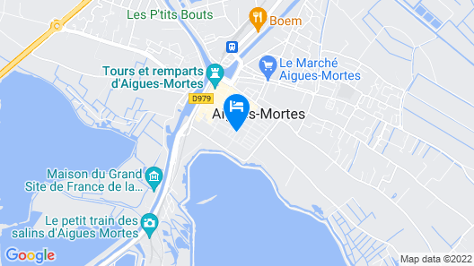 Villa Mazarin Aigues Mortes Map