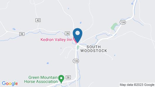 Kedron Valley Inn Map