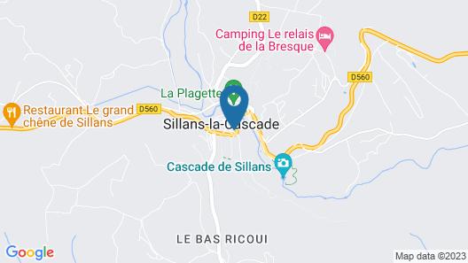 Hotel Restaurant Les Pins Map