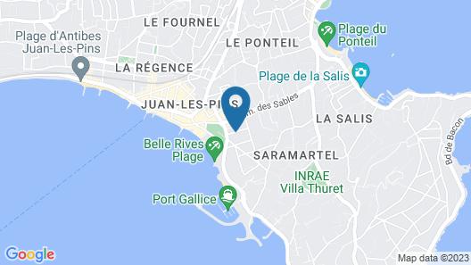 Juan Beach Map