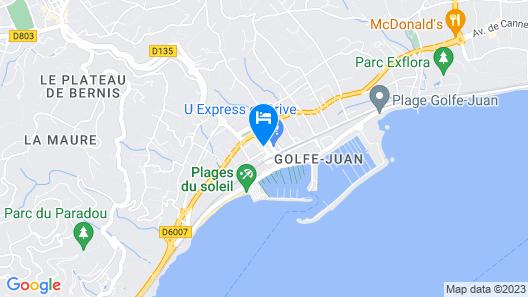 Le Provence Hôtel  Map
