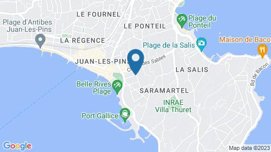 Hôtel Sainte Valérie Map