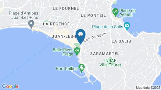 Hotel Juana Map