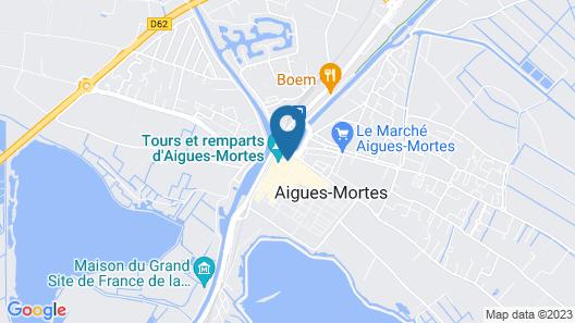 Boutique Hôtel des Remparts Map