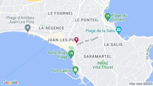 AC Hotel by Marriott Ambassadeur Antibes - Juan Les Pins Map