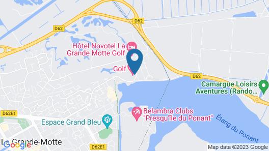 Golf Hôtel Map
