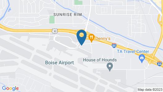 Rodeway Inn Boise Airport Map