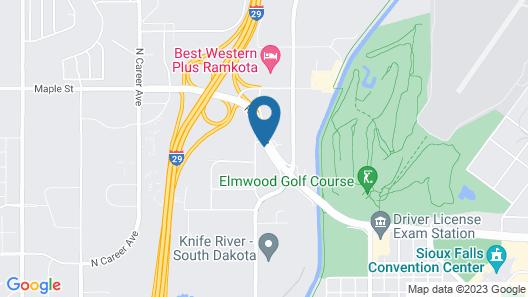 Baymont by Wyndham Sioux Falls West Map
