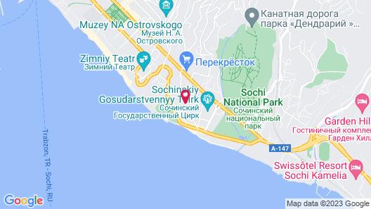 Sea Galaxy Hotel Congress & Spa Map