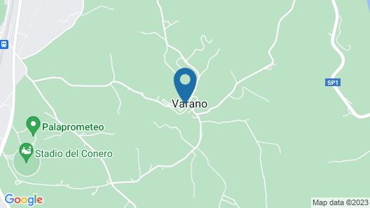 Conero Park / Portonovo, in the Village of Varano / Ancona - Casetta del Borgo Map