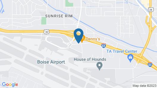 Airport Inn Map