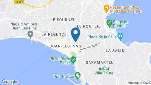 Hôtel Le Pré Catelan Map