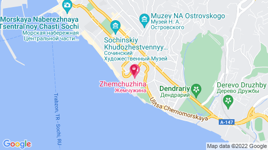 Grand Hotel Zhemchuzhina Map