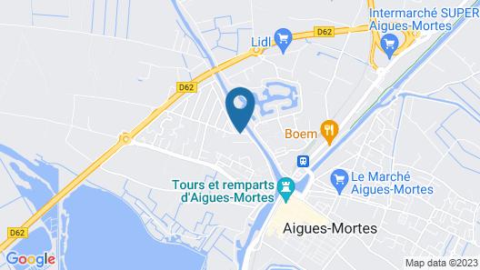 Résidence Odalys Le Mas des Flamants Map