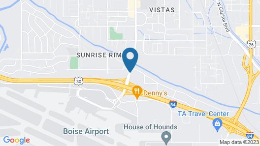 Urban by Hotel Inn Map